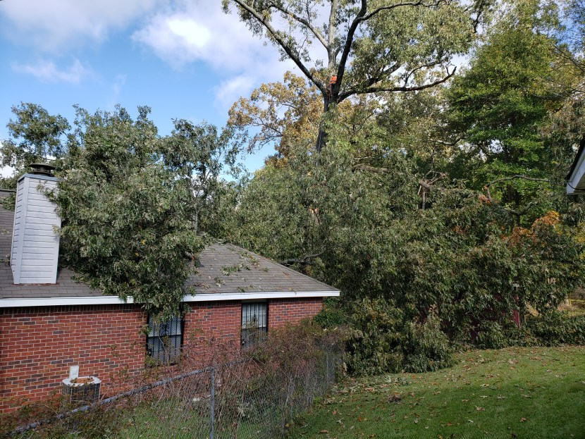 Insurance claim/ storm damage/ licensed contractor