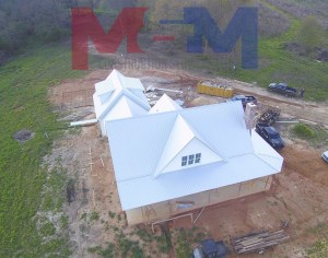 Metal roofing by M&M Construction Services LLC