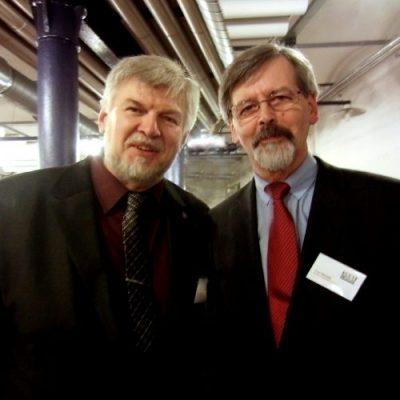 Vorstände MMeV Bernd Glathe & Peter Henckel