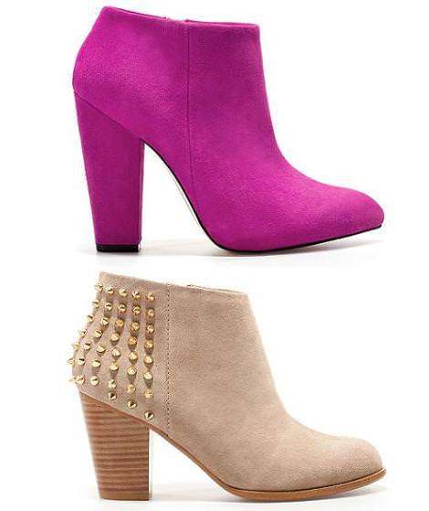 te gustan estos nuevos zapatos de zara del otoño 2012