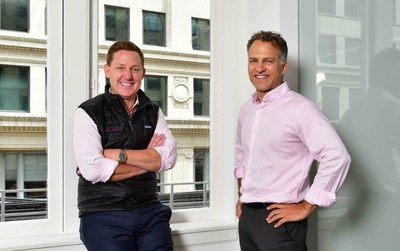 Wendell Jisa, Reveal CEO (left) and Jay Leib, NexLP Co-Founder & CEO (right)