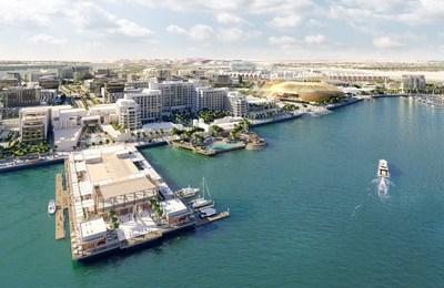 Yas Bay Waterfront - Render