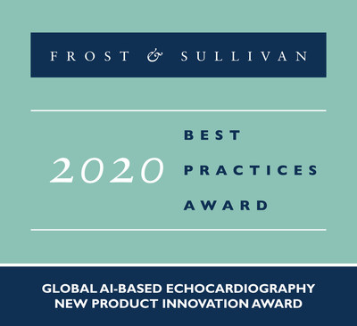 2020 Global AI-based Echocardiography New Product Innovation Award