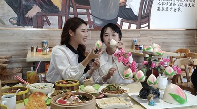 """Live Streaming for Delicacies at Old Dad's Tea in the Activity """"Breakfast in Thousands of Cities, A Bite of Wenchang"""""""