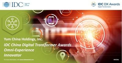 4Paradigm Powers Yum China for IDC China Digital Transformer Awards