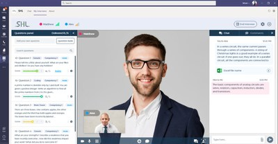 SHL's Smart Interview will soon integrate with Microsoft Teams and Zoom.