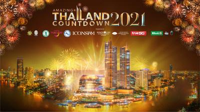 2021年新年泰國曼谷河濱舉行1.4公裡盛大環保焰火表演,向世界傳遞希望