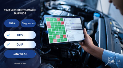 Vault Micro's Automotive Diagnostics Solution Passed Functional Safety Examination of ISO 26262