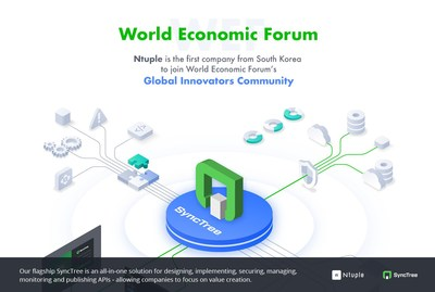 Ntuple is the first company from South Korea to join World Economic Forum's Global Innovators Community