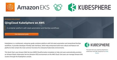 KubeSphere Expands Collaboration with Amazon Web Services to Further Accelerate the Cloud Native Technology Transformation