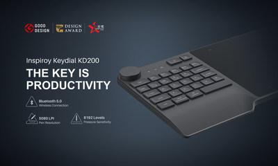 Huion Inspiroy Keydial KD200
