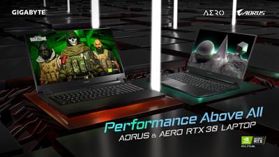 GIGABYTE RTX 30 Series Laptops Now On Sale Following Impressive Pre-order Sales Worldwide