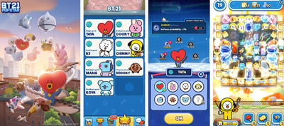 BT21 POP STAR – Screen Shots