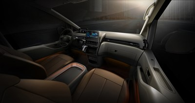 Hyundai Motor Company today unveiled additional design features of STARIA, the brand's new MPV lineup.