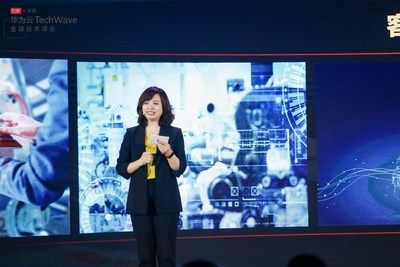 Jacqueline Shi, President of Global Marketing and Sales Service Dept, Cloud&AI
