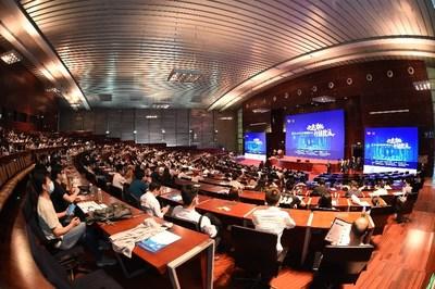 600餘人現場參加了第九屆項目管理國際論壇,同時共有23.8萬人次觀看了論壇現場直播。