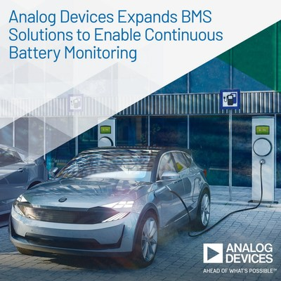 ADI擴展BMS產品系列實現連續電池監測