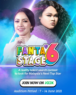 """JOOX invites Cik B and BabyShima to be the mentors of its latest campaign """"Fanta6 Stage"""""""