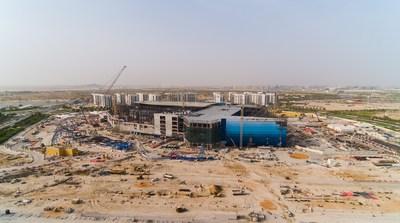 SeaWorld Abu Dhabi External Construction Photo