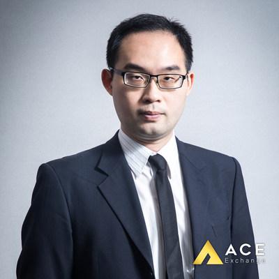 ACE Exchange創辦人潘奕彰David Pan,ACE為台灣在地最高規的交易所早已落實實名制,更導入凱基新台幣信託及CYBAVO數字資產託管