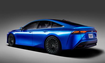 Elegant New Mirai Concept Based on Premium RWD Platform
