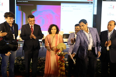 Key Dignitaries at the Lamp Lighting ceremony of the 14th edition of Fi India and Hi and 2nd edition of ProPak India in Mumbai