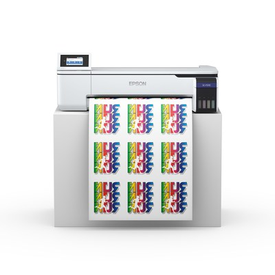 Epson introduced its first desktop dye sublimation printing solution, the SureColor F570 for fast, efficient dye-sublimation printing right out of the box.