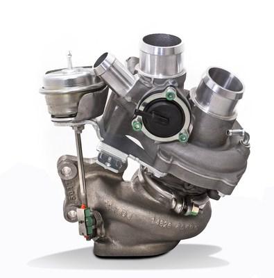 BorgWarner's upgrade turbocharger for the 3.5-liter EcoBoost® engine in Ford F-150 trucks.
