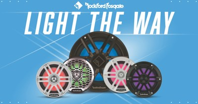 Rockford Fosgate Marine Color Optix™ Speakers and Subwoofers (M1 Series and M2 Series shown)