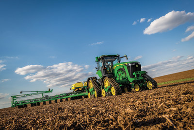The new John Deere 8RX tractor is a CES Innovation Awards Honoree in the Tech for a Better World category.
