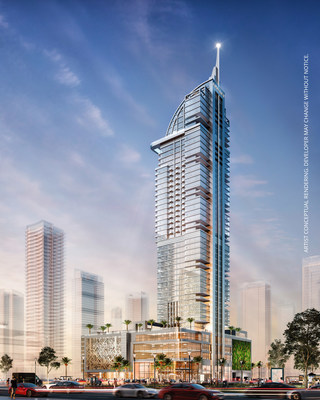 Rendering of Legacy Hotel and Residences