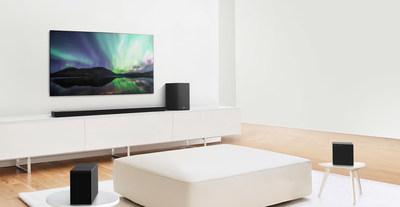LG Soundbar Lineup (CNW Group/LG Electronics Canada)