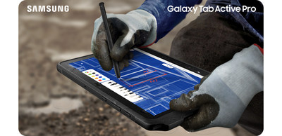 Galaxy Tab Active Pro - In The Field (CNW Group/Samsung Electronics Canada)