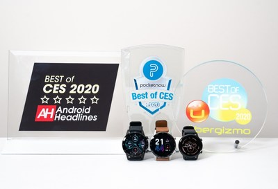 "HONOR MagicWatch 2 is awarded ""Best of CES"" 2020 by global media"