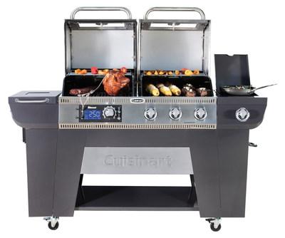 Cuisinart® Twin Oaks Pellet & Gas Grill
