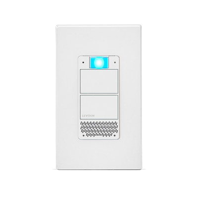 Leviton's Decora Smart Voice Dimmer with Amazon Alexa Built-in offers easy Wi-Fi lighting and Alexa voice control in a single package built into your home.