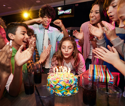 Main Event Launches Five All New Birthday Party Packages Built For Everyone From Gamers To Teens To The I Want It Allers