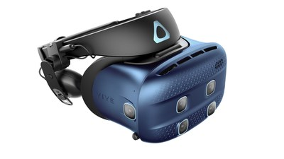 Featuring high-quality passthrough cameras, Vive Cosmos XR combines a crisp view for overlays of the real world, blended seamlessly into the virtual one.
