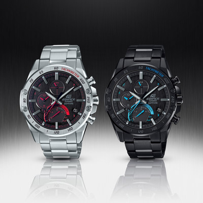 New EDIFICE models offer compact design and Bluetooth connectivity