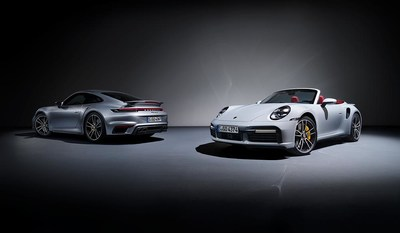 2021 911 Turbo Coupe and Cabriolet
