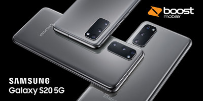 Samsung Galaxy S20 5G Now Available at Boost Mobile