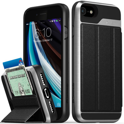 Vena's popular all-in-one wallet case vCommute is available for the iPhone SE.
