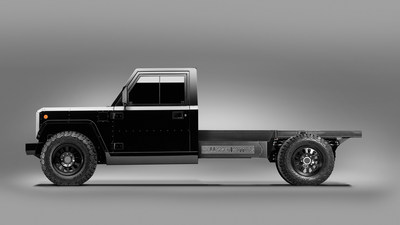 Bollinger Motors unveils the world's first Class 3 electric commercial truck platform. The B2 Chassis Cab offers endless commercial applications.