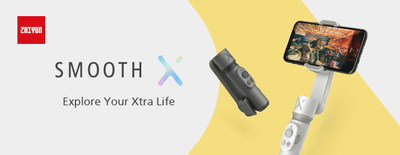 ZHIYUN launched SMOOTH-X, a new smartphone gimbal featuring stylish design and brand new app
