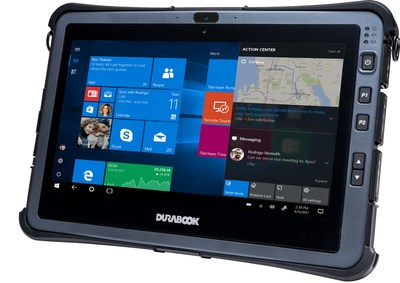 Durabook's upgraded U11 fully rugged tablet is the first to feature the 10th generation Intel Core processor, which improves performance by almost 260%. It's also the only fanless tablet in its class and TAA compliant.
