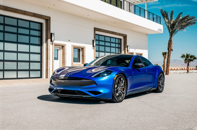 Karma Automotive's new Sports and Performance packages for the Revero GT deliver a 0 to 60 mph in 3.9 seconds, alongside a variety of visual enhancements such as carbon fiber trim.