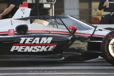 Racing Optics Tearoffs Featured on Team Penske Aeroscreen at INDYCAR