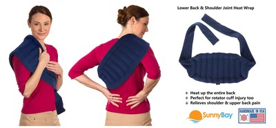 stay home orders prompt surge of interest in sunnybay s heating pad