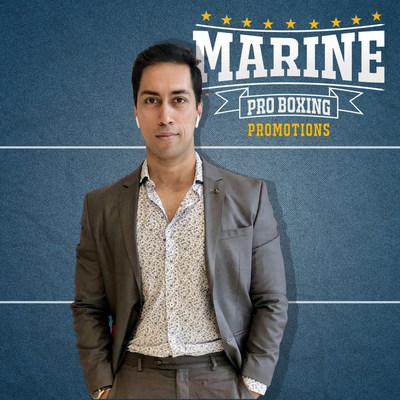 Devraj Das - Founder / Promoter of Marine Pro Boxing Promotions