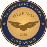RRDS Inc Receives 2020 HIRE Vets Medallion Award From U.S. Department of  Labor